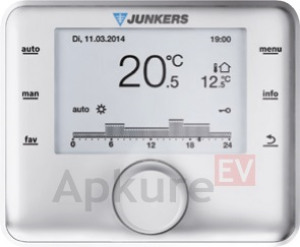 Temperatūras regulators Junkers CW400